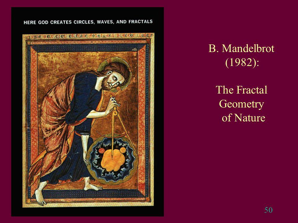 50 B. Mandelbrot (1982): The Fractal Geometry of Nature