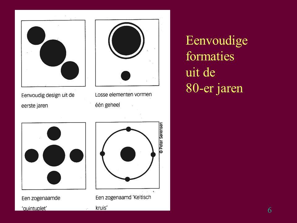 7 1990: Allerlei Pictogrammen, aansluiting bij Keltische symbolen