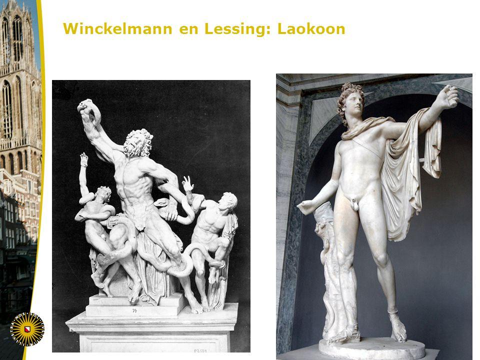 Winckelmann en Lessing: Laokoon