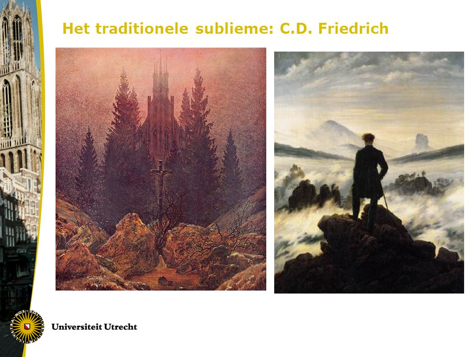 Het traditionele sublieme: C.D. Friedrich