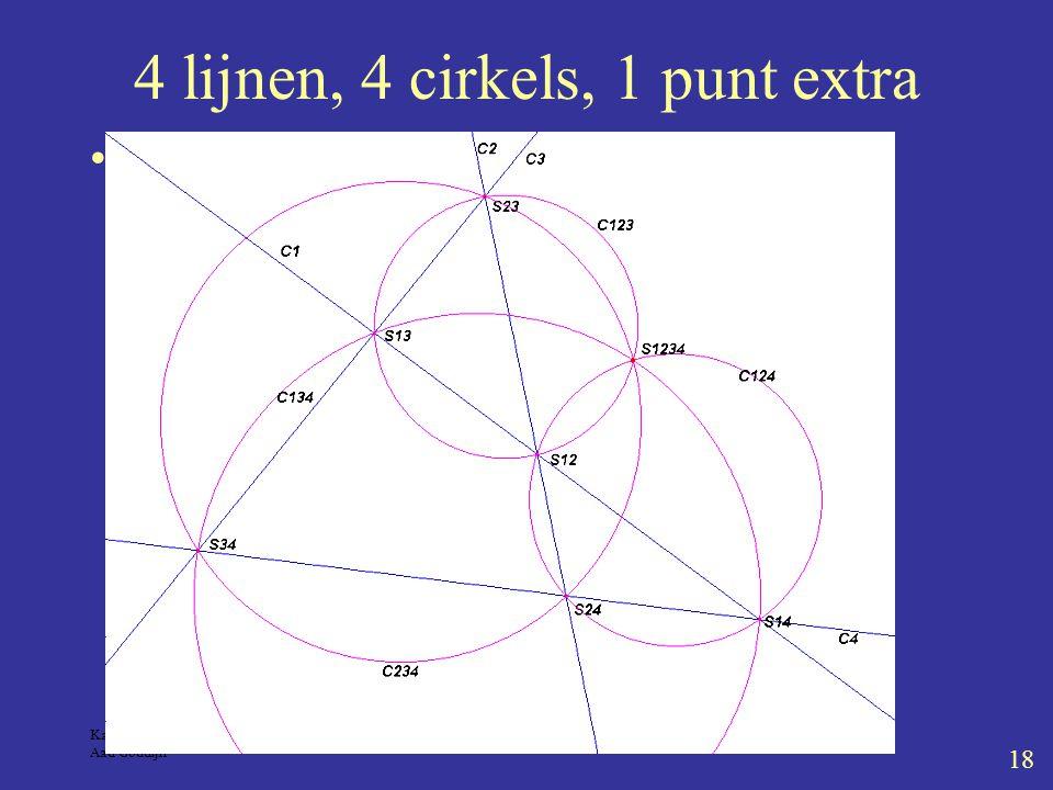 Kaleidoscoop 5-4-2004 Aad Goddijn 18 4 lijnen, 4 cirkels, 1 punt extra Miquel4lijn.fig