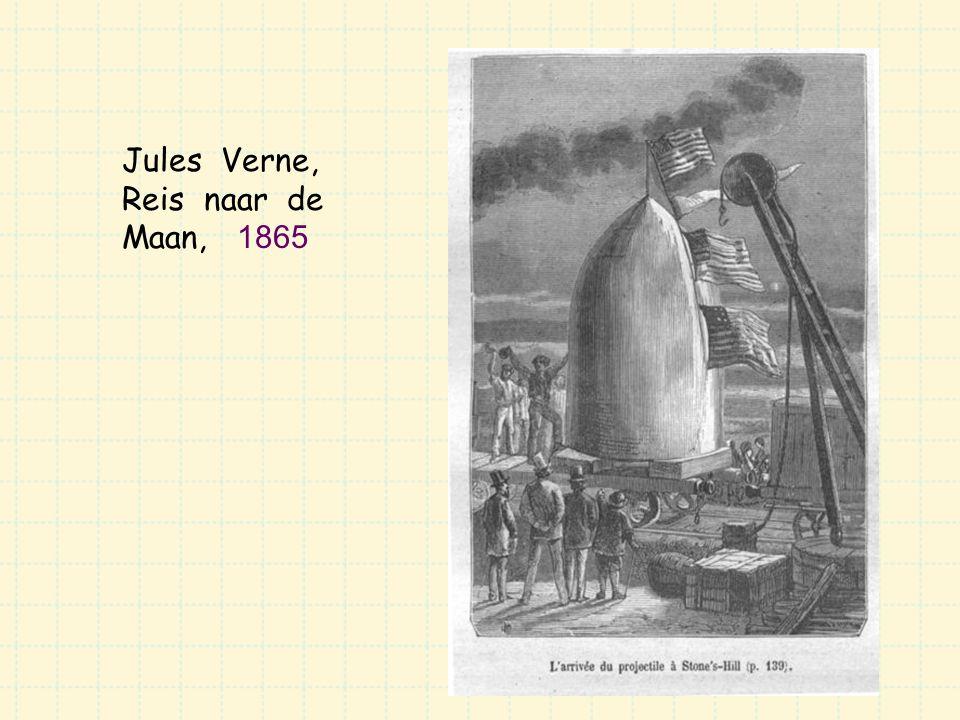 Jules Verne, Reis naar de Maan, 1865