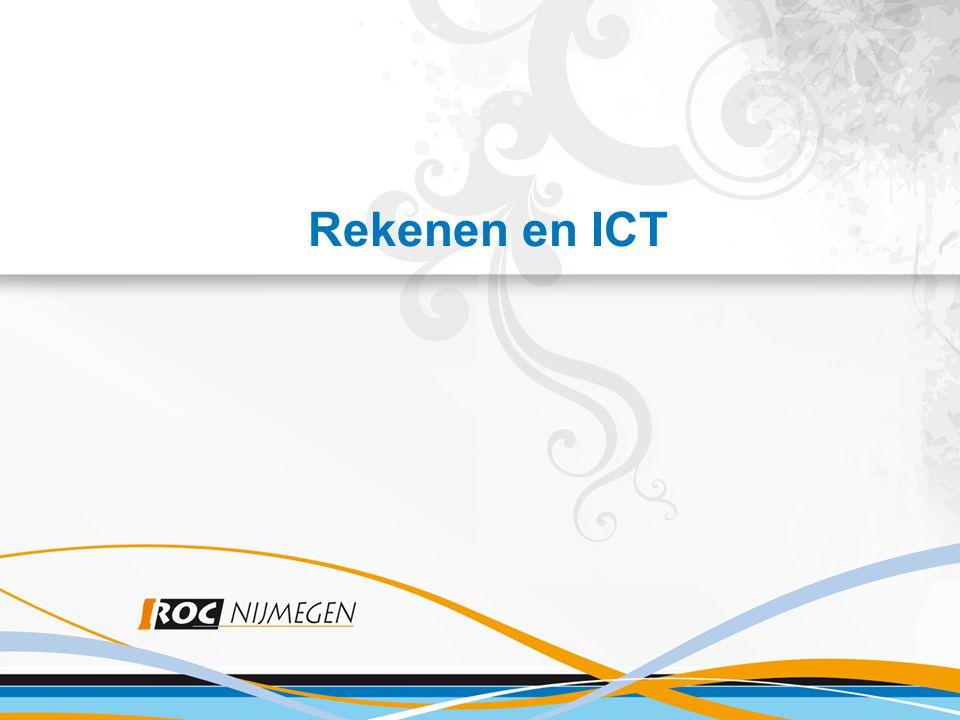 Inhoud 1.Waarom Rekenen (en Ned.taal).