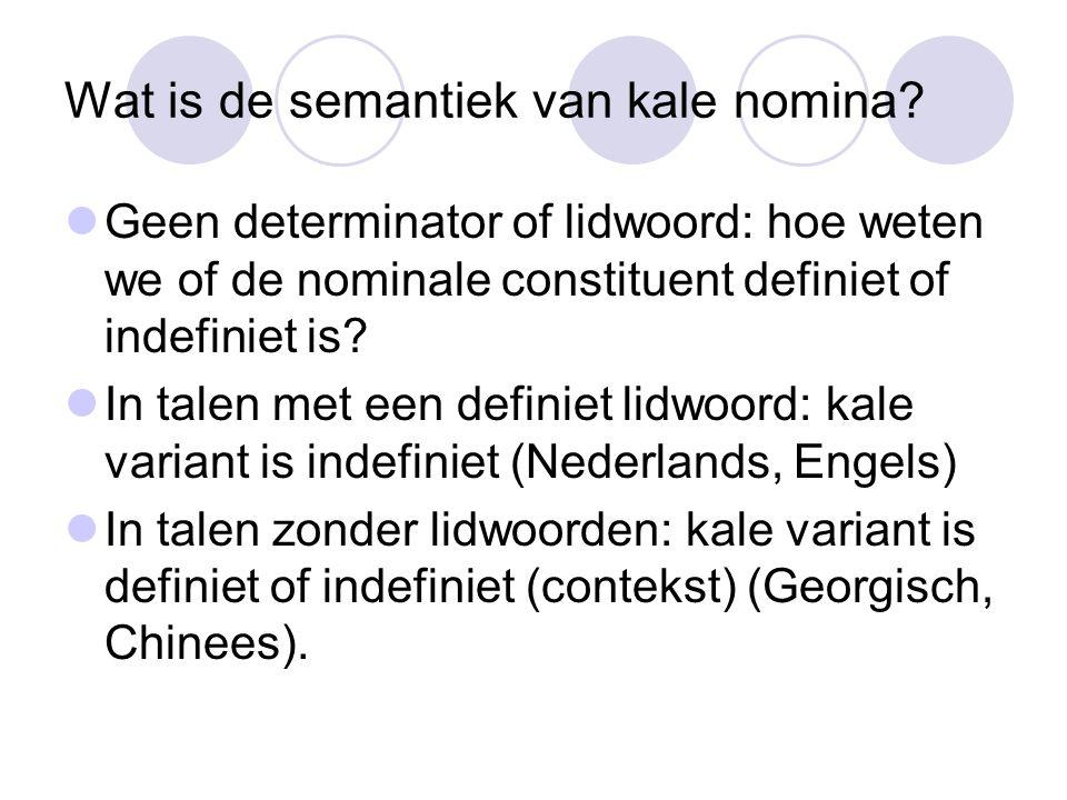Nederlands Complicatie: woordvolgorde …omdat Jan niet in boeken van Chomsky las.