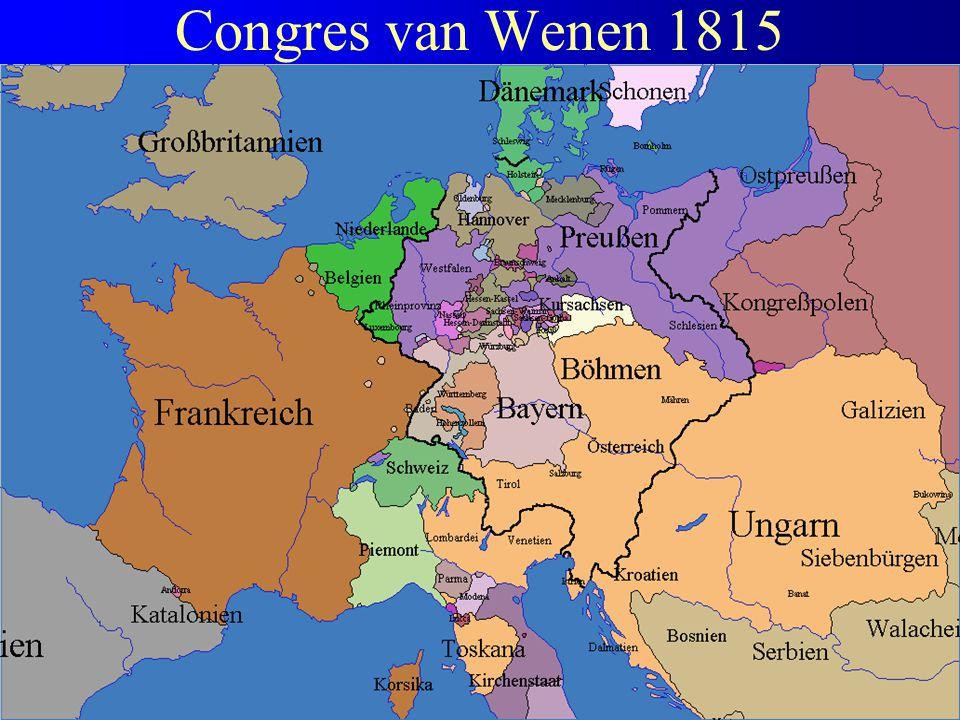 Congres van Wenen 1815