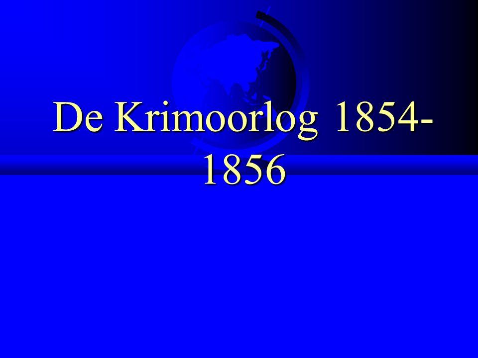 De Krimoorlog 1854- 1856