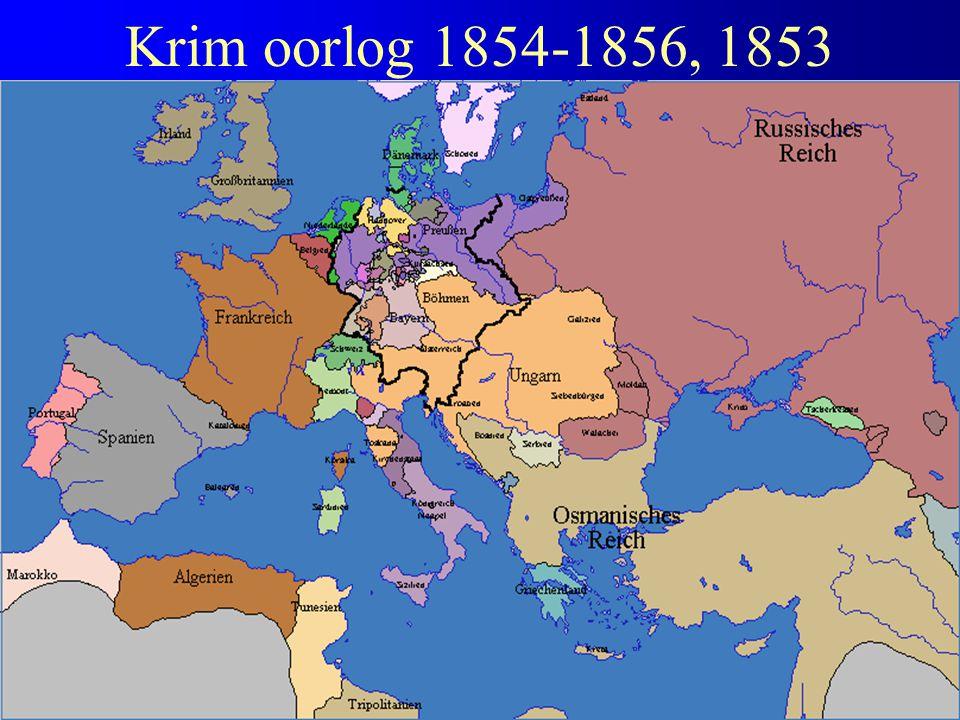 Krim oorlog 1854-1856, 1853