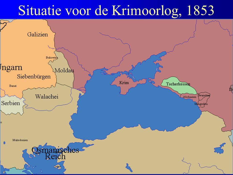 Situatie voor de Krimoorlog, 1853