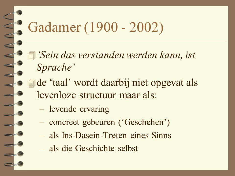 Heidegger 4 'Was ist das, das 'Sein'?' 4 'Die Wahrheit des Seins ist das Wesen' (Hegel)