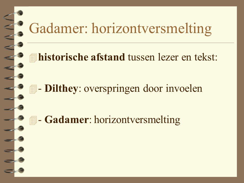 Gadamer 4 'das Verstehen ist selber ein Geschehen' 4 '…das Sprache vom Gespräch her verstanden müsse' 4 Sprachlichkeit des hermeneutischen Geschehens