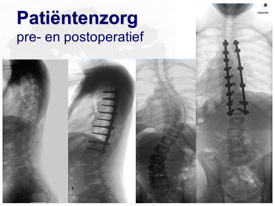 Patiëntenzorg Patiëntenzorg pre- en postoperatief