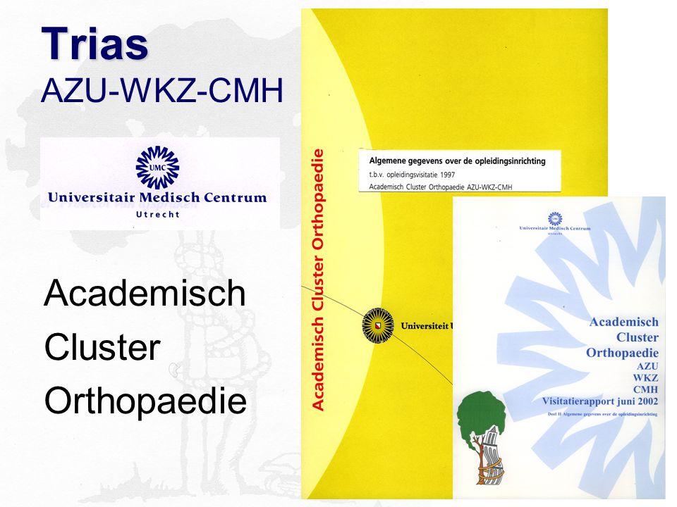 Trias Trias AZU-WKZ-CMH Academisch Cluster Orthopaedie