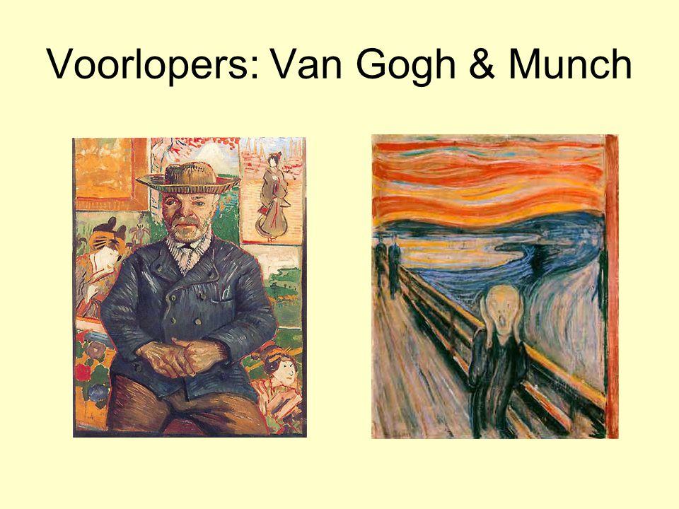 Voorlopers: Van Gogh & Munch