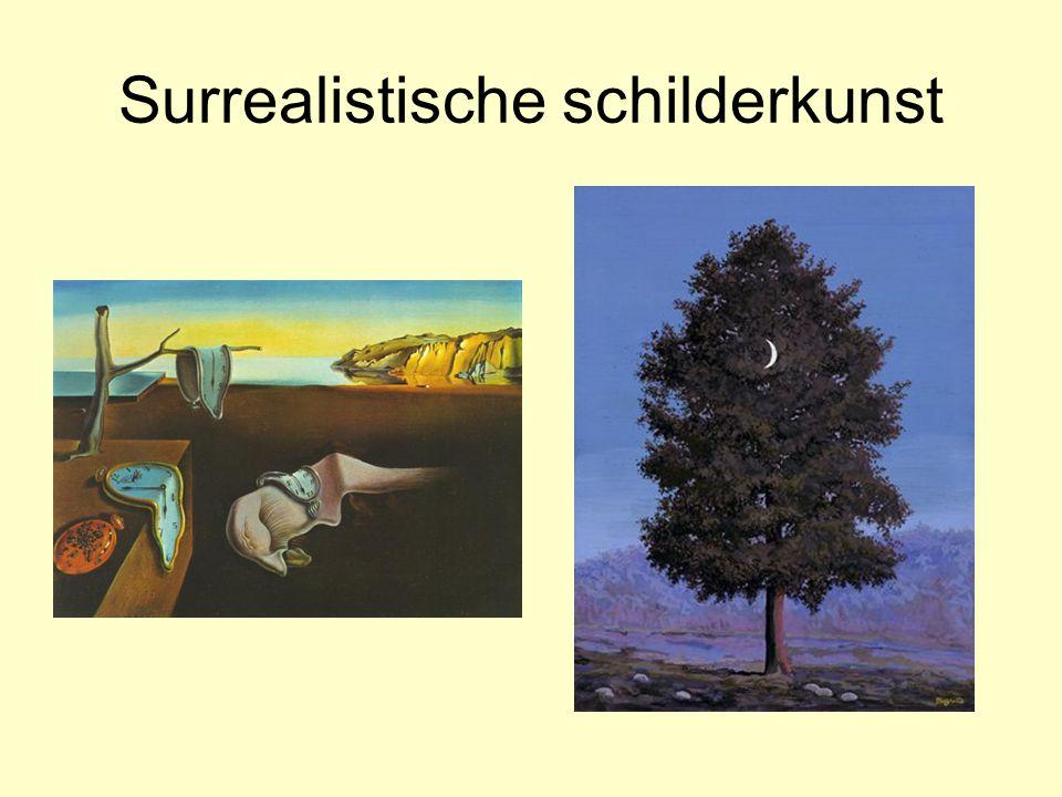 Surrealistische schilderkunst