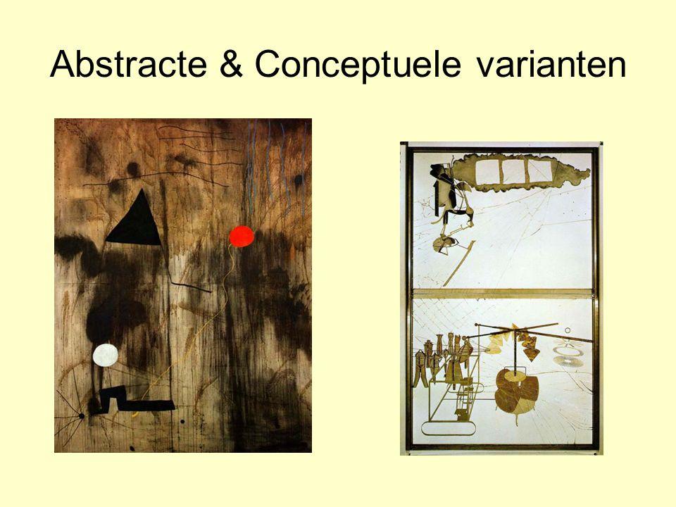 Abstracte & Conceptuele varianten