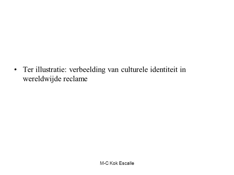 M-C Kok Escalle Ter illustratie: verbeelding van culturele identiteit in wereldwijde reclame