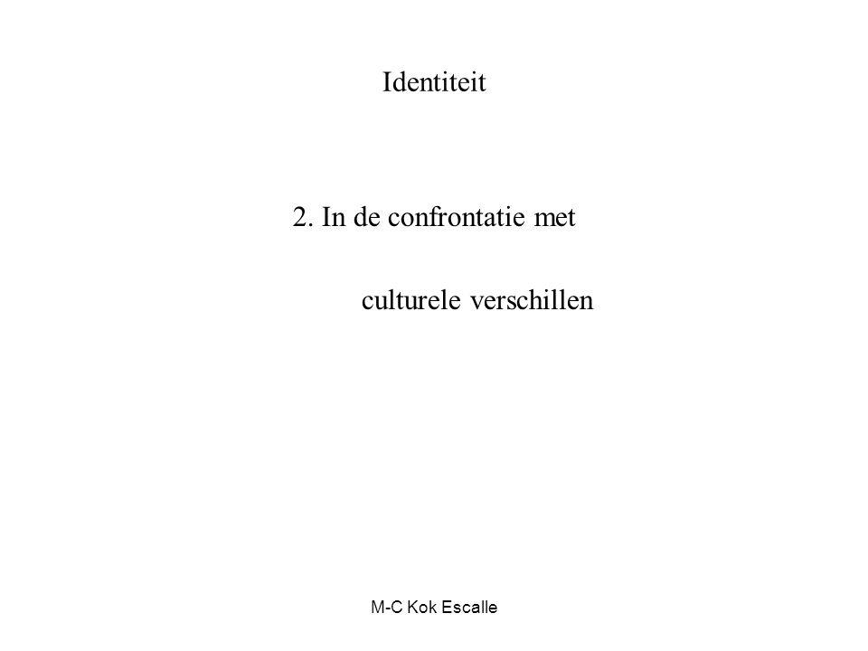 M-C Kok Escalle Identiteit 2. In de confrontatie met culturele verschillen