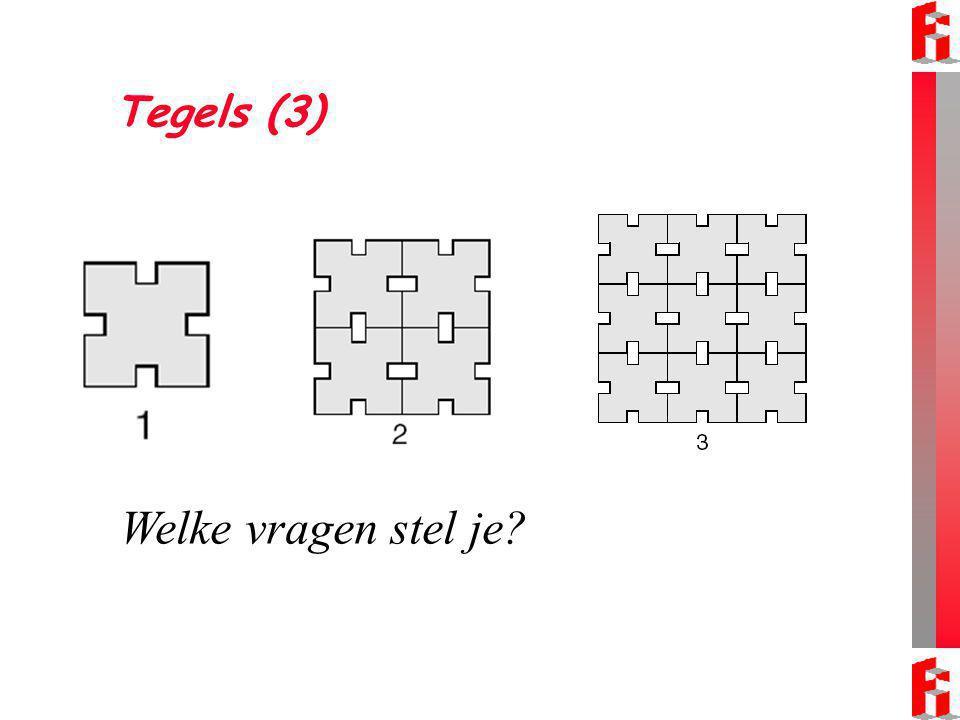 Tegels (3) Welke vragen stel je?