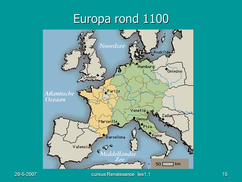 20-5-2007cursus Renaissance les1.115 Europa rond 1100