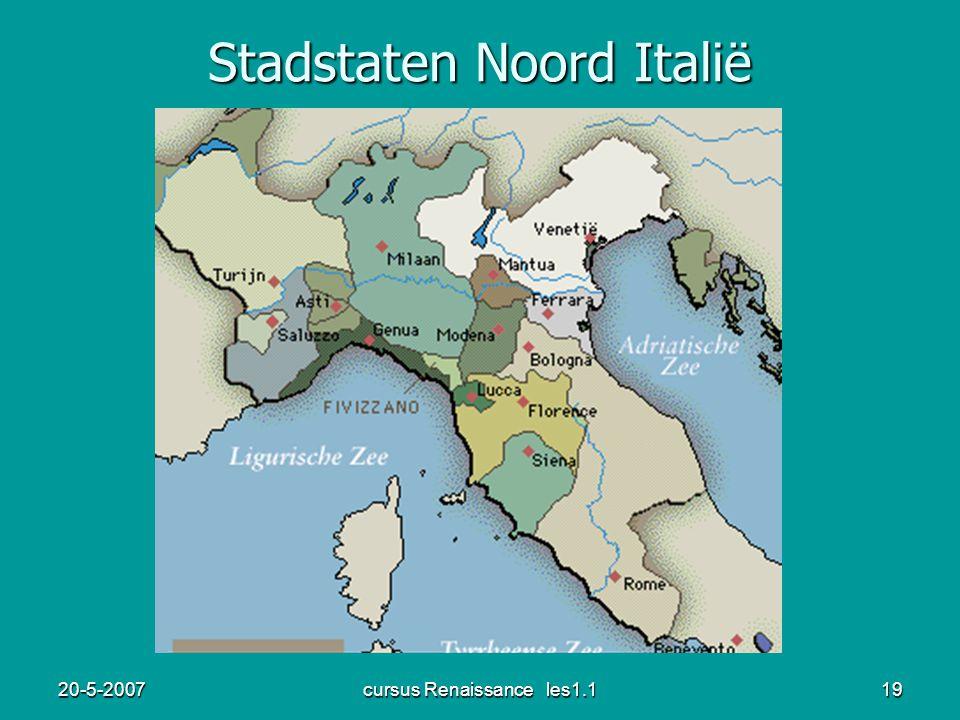 20-5-2007cursus Renaissance les1.119 Stadstaten Noord Italië