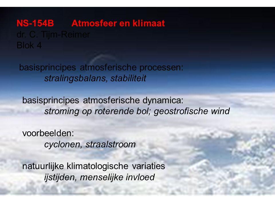 NS-154BAtmosfeer en klimaat dr. C.