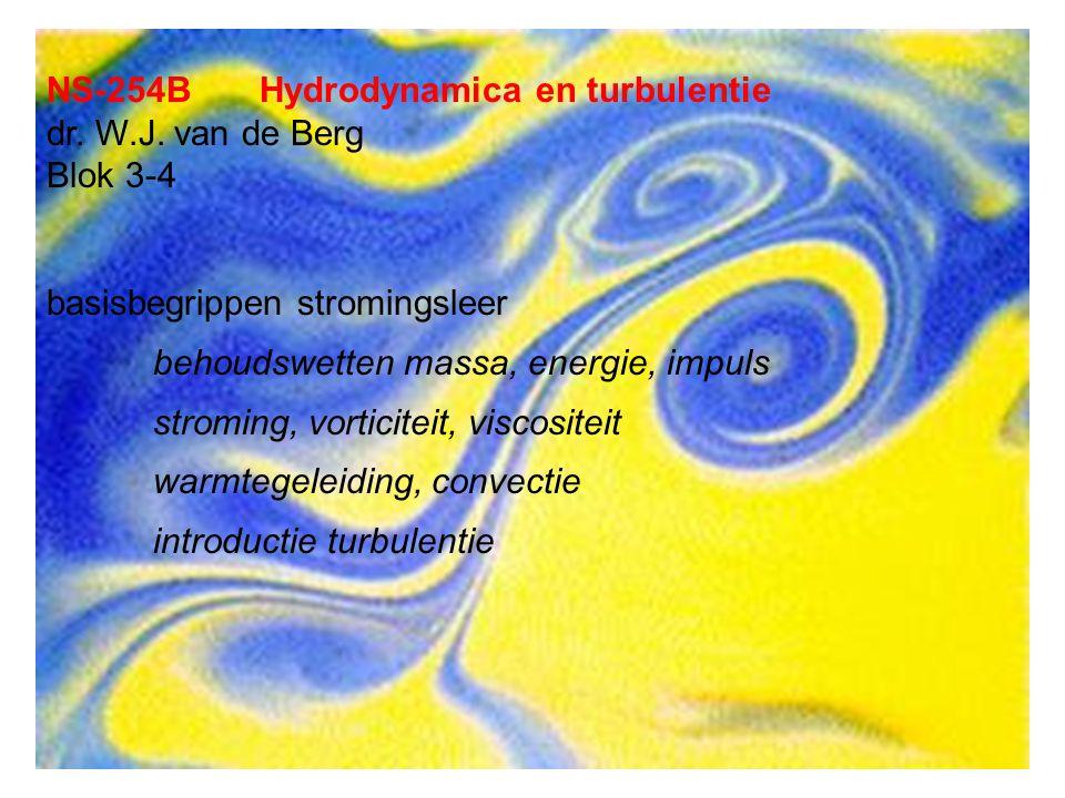 NS-254BHydrodynamica en turbulentie dr. W.J.