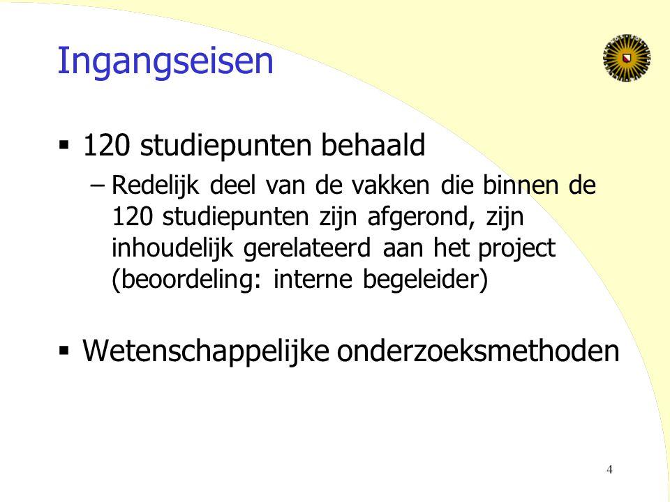Rogier van Eijk VIDI 25 mei 200525 Project 3: Technologie- onderzoek Hoe slaapt de user?