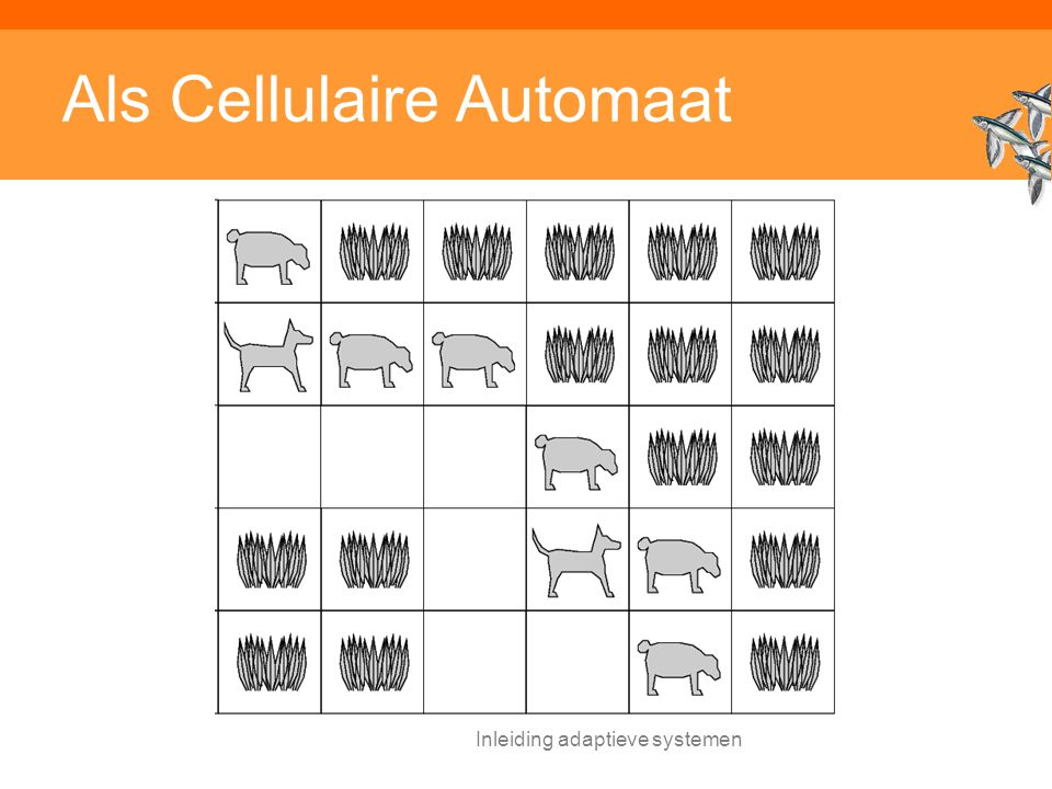 Inleiding adaptieve systemen Als Cellulaire Automaat