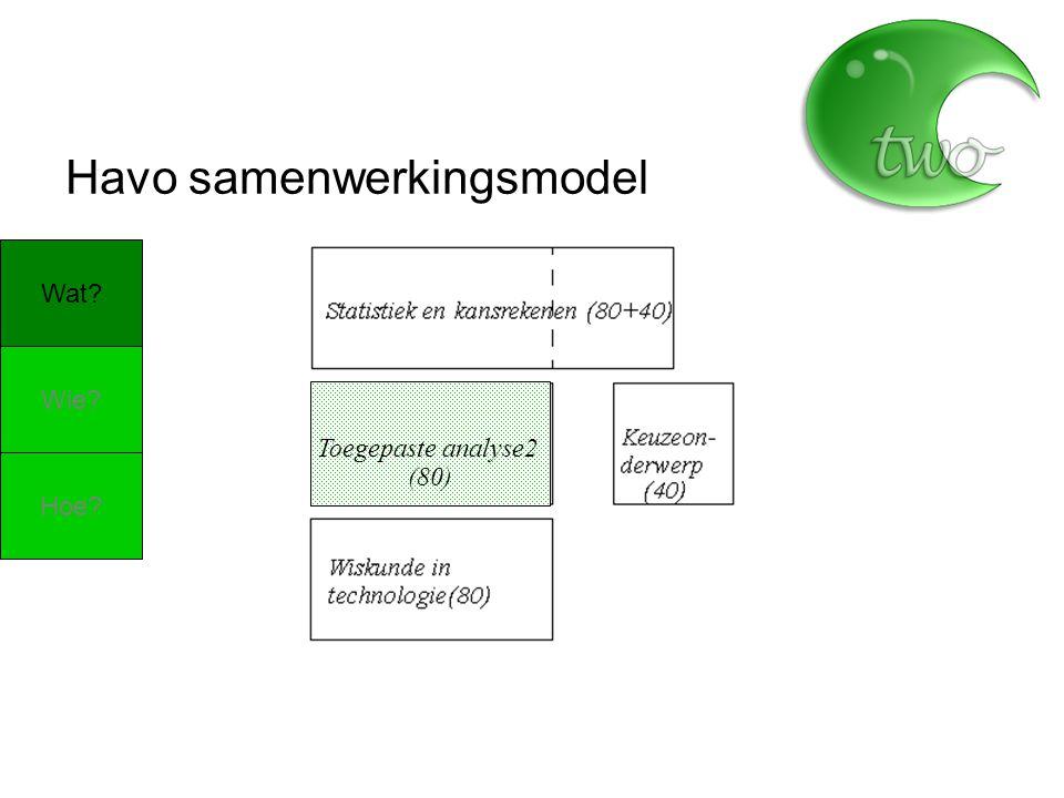 (80) Havo samenwerkingsmodel Wat Wie Hoe Toegepaste analyse2