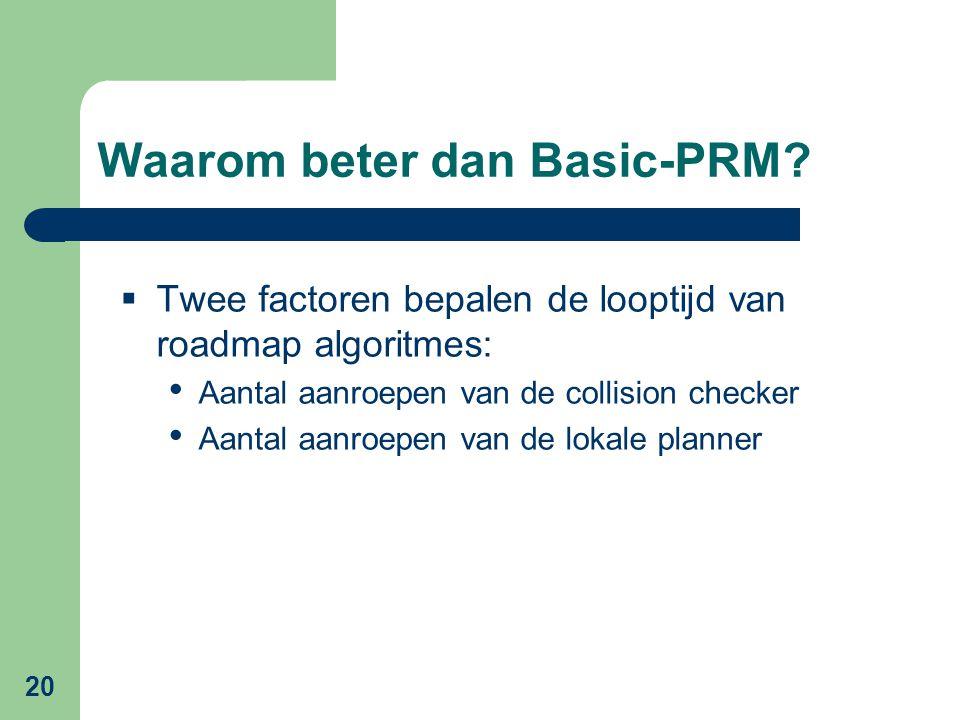 20 Waarom beter dan Basic-PRM.