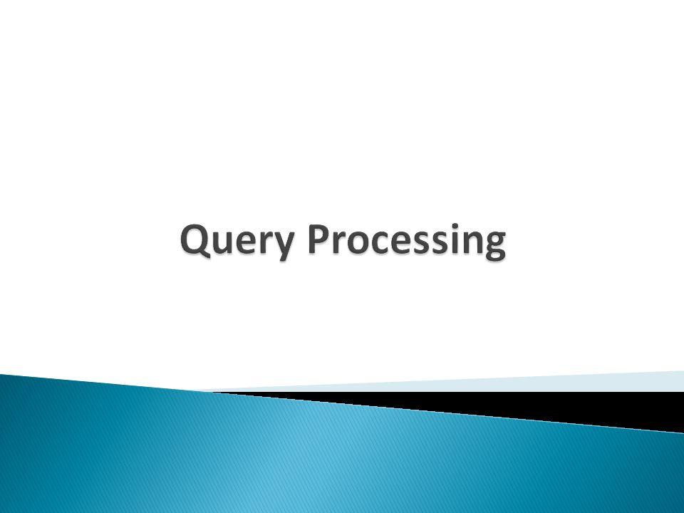  We gaan kijken naar datastructuren en algoritmen ten behoeve van het uitvoeren van algebraïsche operatoren  (Blok 4 INFODS) Algoritmische analyse in main memory: tel het aantal stappen van het programma ( :=, < )  Veralgemeniseer dit naar N, de lengte van de input  Onze benadering: tel het aantal keren dat disk access (IO) wordt gedaan en negeer de data processing in CPU en main memory