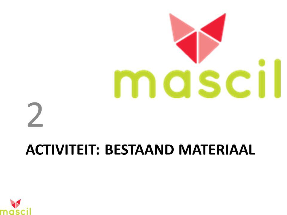 ACTIVITEIT: BESTAAND MATERIAAL 2