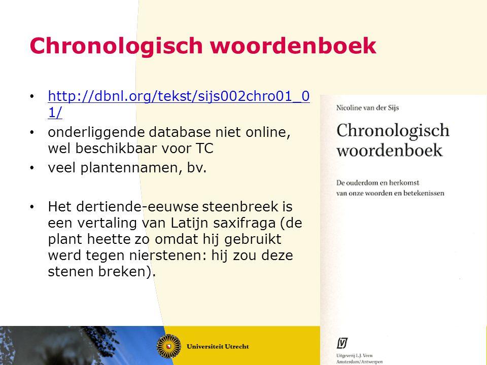 Ruwe data (fragment) [metadata] [Plantenglossarium uit Vlaams Artesië of Frans-Vlaanderen] Agrimonia; Artemesia (biuot); Acerra; Aquileia (aquileia); Alleluia (kukuckes loc); Asidula (surcle); Atriplex (melde); Arundo (rid); Anetum (dile ); Apium (merka); Alleum (loc); Absintium (alsne); @Apirrisium; 5 Balsamita; Bacca$ (baia); Beta (romescol ); Biblus (bise); bitannus; celidonia (scelworte); Carica (mure); Cauda caballina (cattenstert); Cepe (uniun); Canaps (canep); Carix (scaf bise); Cirpus (beze); Cirmus; Citisus (clauere); Cardus (ditel ); Corimbus (fructus edere); Ciminum (cunmin ); Colliandrum ; Cerfolium (keruele); Camamilla (hundeblome); Cicuta; Daucus (pastanaca); 10 cenescion (scinsun); enula; edera (dresna); erucus (walric); ebulum (adic); fragum (erdbeire); fragifolium (erdbeir blat); feniculum (uenecal); fungus (banet); filix (uaren); Gingiber (gigeberre ; gilconum (mire); galbanum (galegan & galange); genista (bram); gladiolus (lisc); hinnula; Jusquiamum (belne); ysopum (ysopo); iuncus (bize); Amigdalus (madalbom ); Auellana 15 (aselnote); Acer (sledorn); Acrile (sle); Alnus (els); Abies (dan); gariofileta; lanciolata (ribbe); labrusca (bouerella); lactuca (latue); lappa (clithe); lactarides (melquid); lupinum; lilium (lilie); ligustrum (widebinde); libiscus (louesca); lentiscus; Muscus (mos); mandragora (alruna); moysica (museke); malua (papla); mirica; madiger (col scot ); maratrum (ueinekol ); menstriastrum 20 (ersminte); morum; marubium (marubie); mille folium (garwe); nepita (daunettla ); pilosella (mushore); piretrum (petra );porrum (poret); petrosilinum (persele); potentilla (mille folium); primula; polipodium (bom uarn); papirus (bize); plantago (wegabreda); pulegium album (boge); papauer (mecopin); rafanum (radic); saxifraga (sten breca); sarpillum (kunnella); saluea 335 (salge); sauina (sauelbom); sure (brade); veretri (ters).
