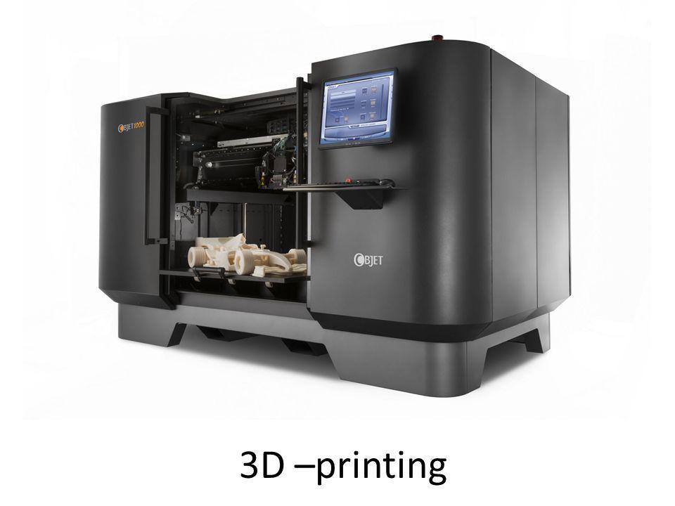 3D –printing