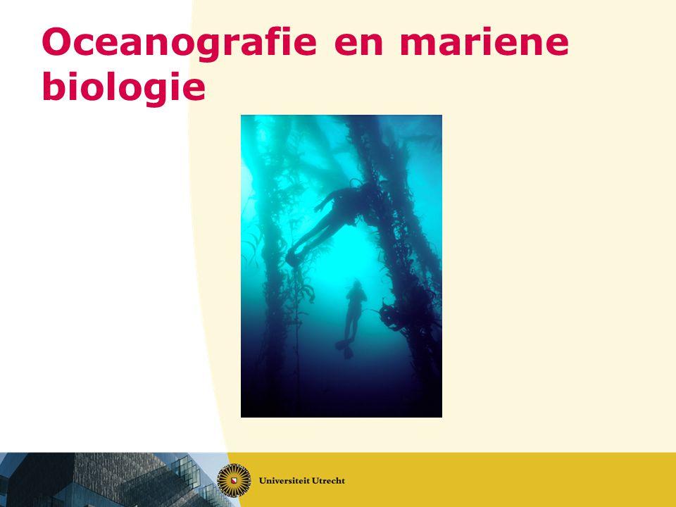 Oceanografie en mariene biologie
