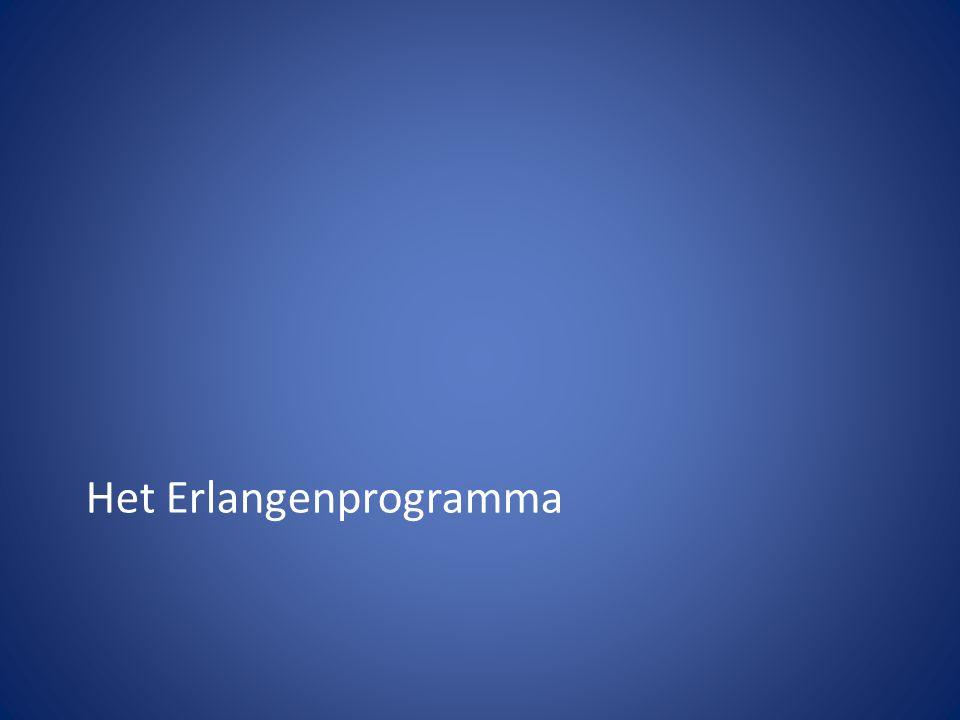Het Erlangenprogramma