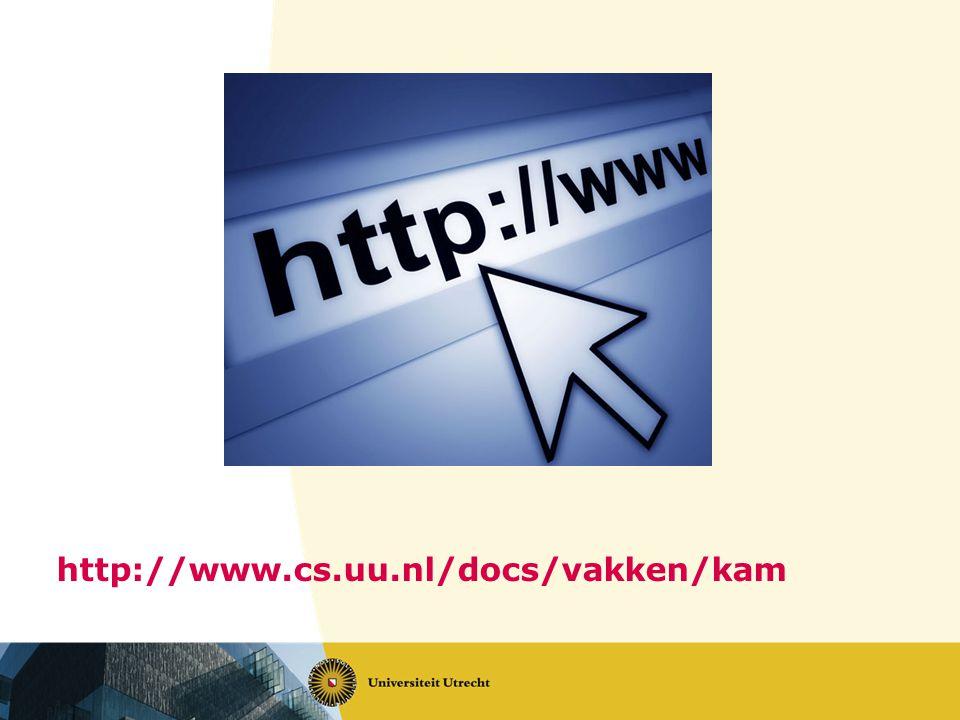 http://www.cs.uu.nl/docs/vakken/kam
