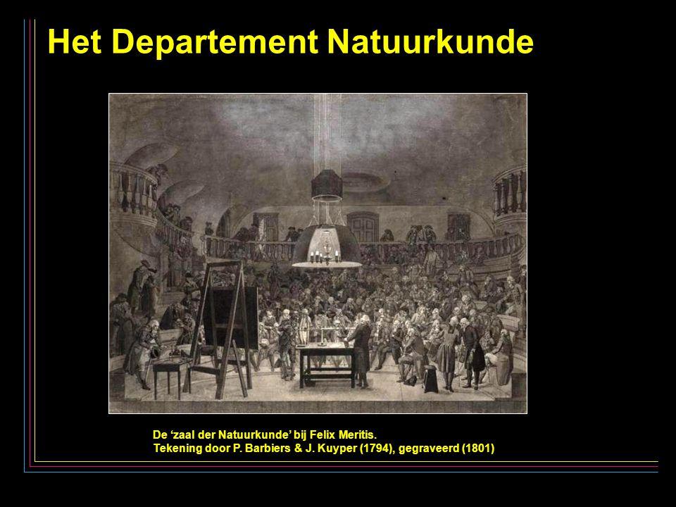 18 Het Departement Natuurkunde De 'zaal der Natuurkunde' bij Felix Meritis.