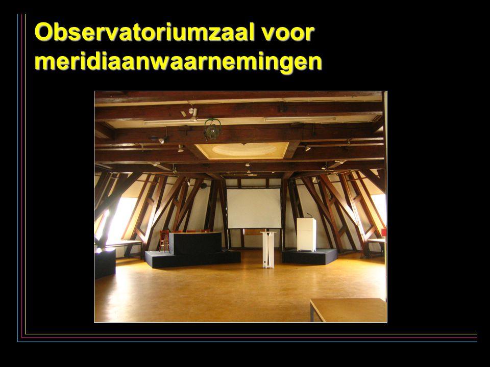 21 Observatoriumzaal voor meridiaanwaarnemingen