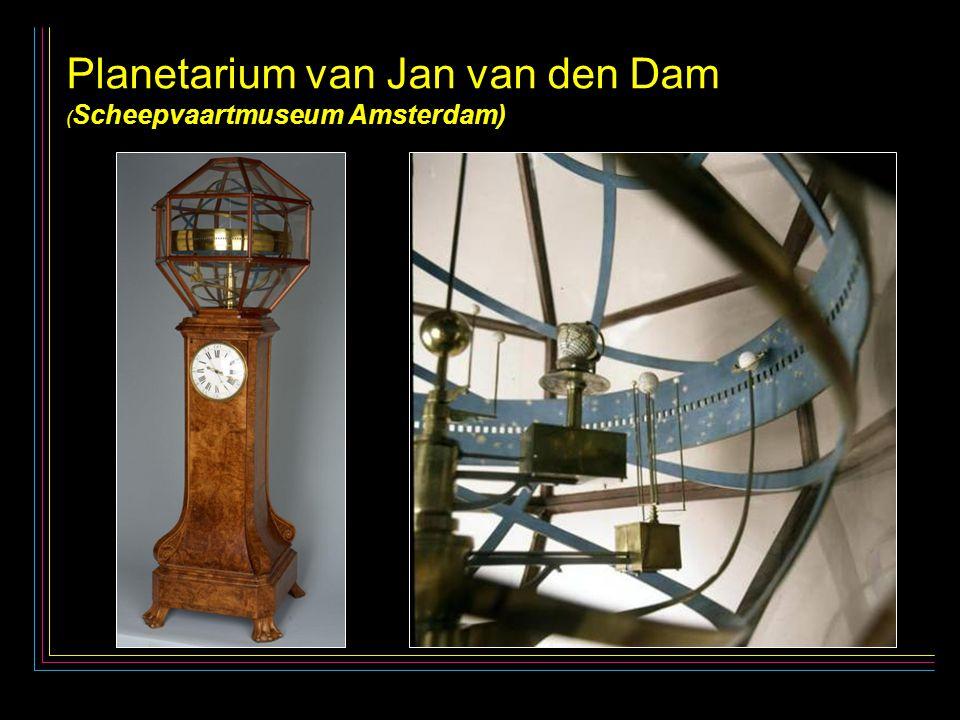 25 Planetarium van Jan van den Dam Planetarium van Jan van den Dam ( Scheepvaartmuseum Amsterdam)