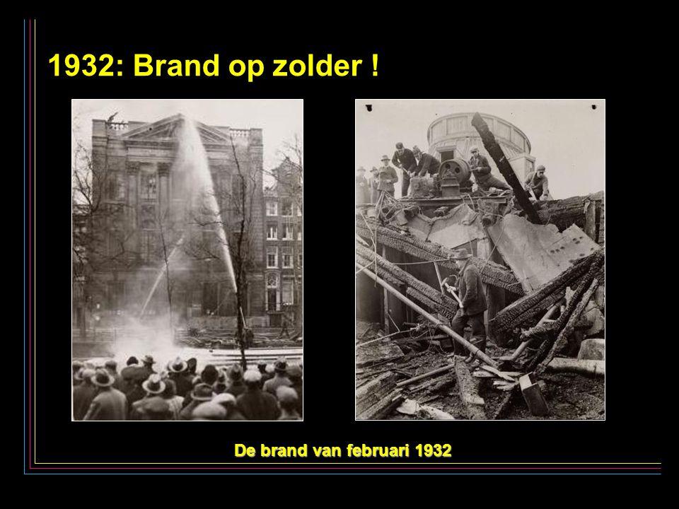 30 1932: Brand op zolder ! De brand van februari 1932