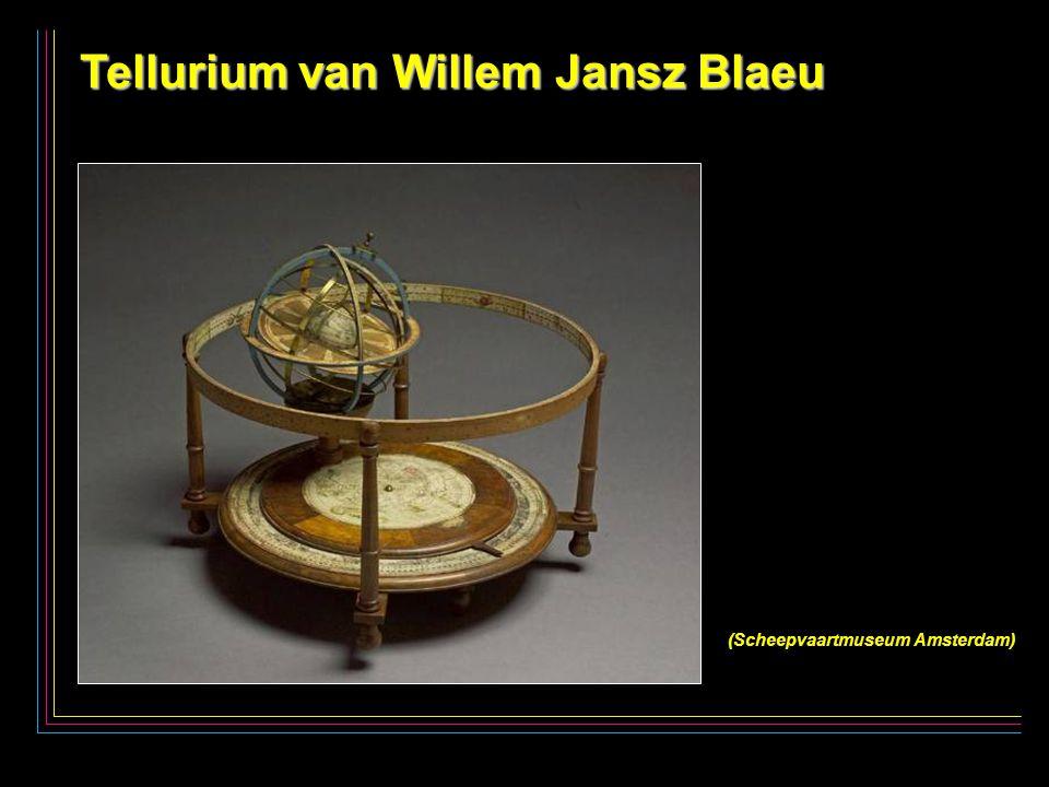 5 Tellurium van Willem Jansz Blaeu (Scheepvaartmuseum Amsterdam)