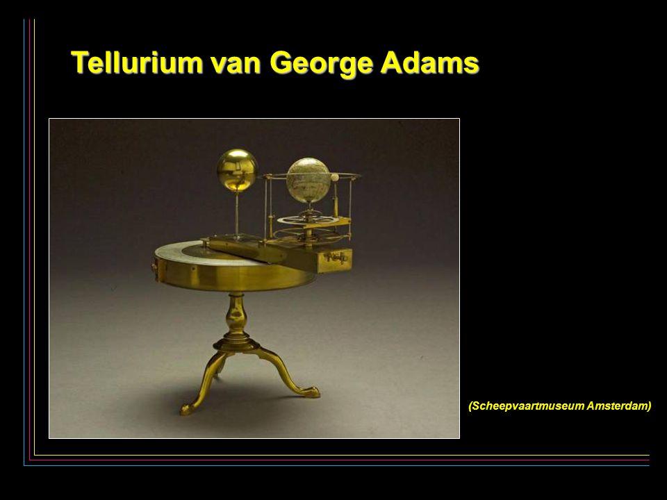 6 Tellurium van George Adams Tellurium van George Adams (Scheepvaartmuseum Amsterdam)