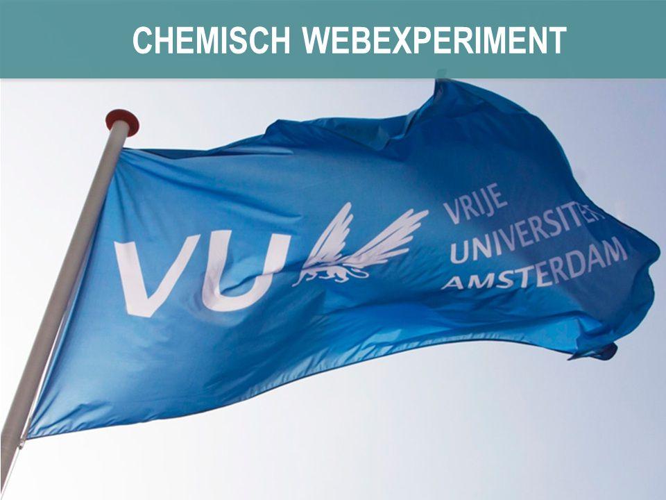 CHEMISCH WEBEXPERIMENT