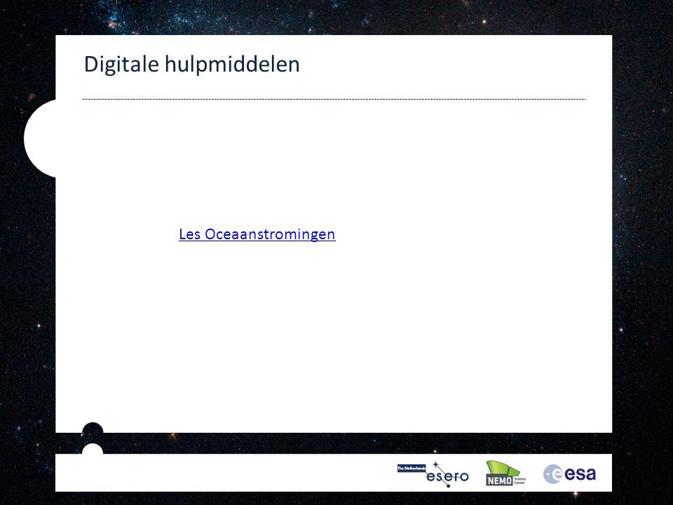 Digitale hulpmiddelen Les Oceaanstromingen