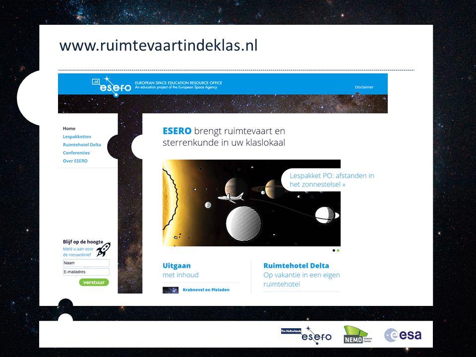 www.ruimtevaartindeklas.nl