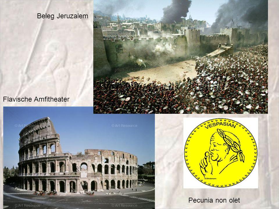 Flavische Amfitheater Pecunia non olet Beleg Jeruzalem