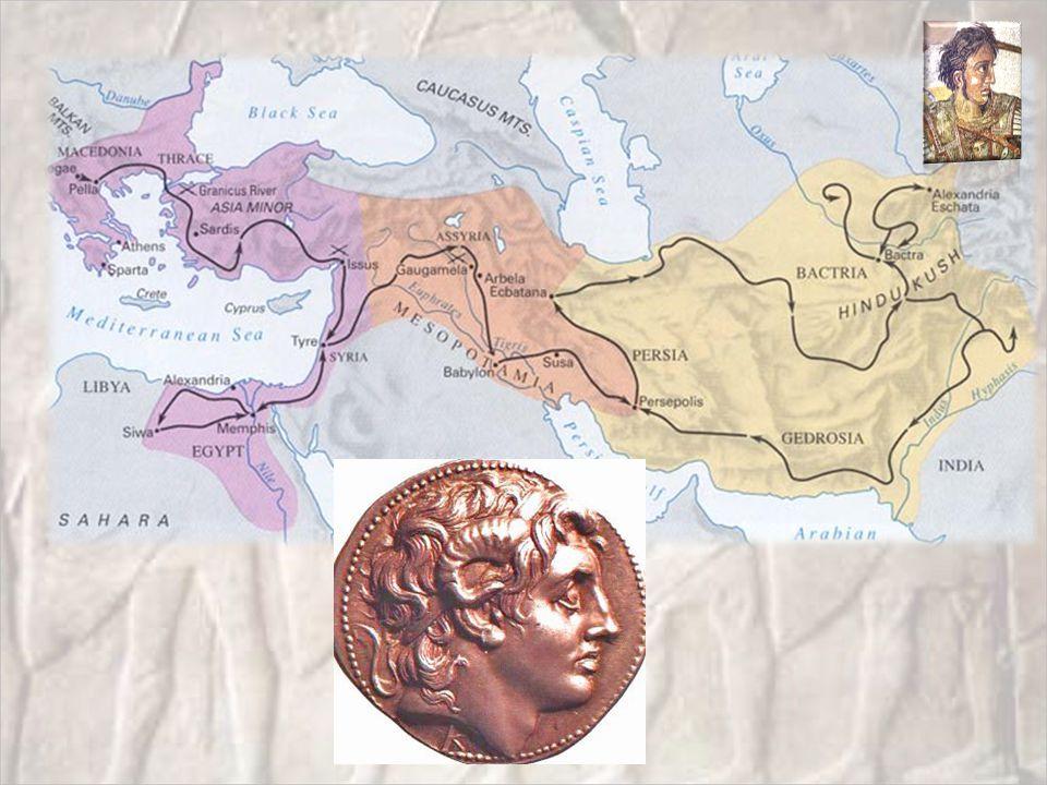 Alexander's koningschap Heersercultus Perzisch invloeden en Macedonische invloeden 'Proskynesis' Massa-huwelijk te Susa (324) Universele admiratie voor zijn militaire prestaties Over de rest zijn de meningen ernstig verdeeld