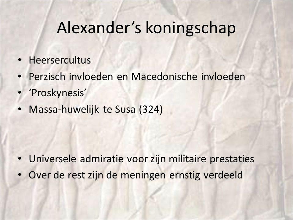 Na Alexander's dood (A2) Diadochenoorlogen (323-279 vChr).