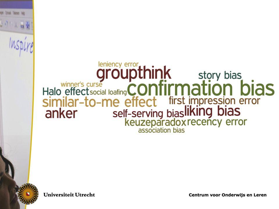 Tips confirmation bias Hoe positiever iemand is voor het interview.